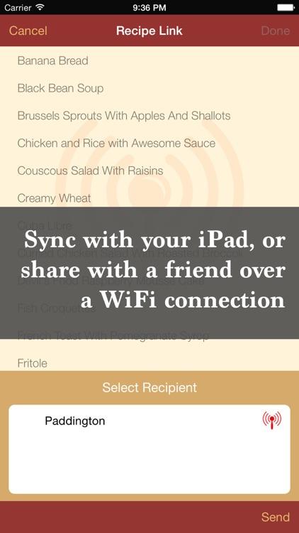 The Recipe Box To Go — Your Pocket, Your Recipes screenshot-3