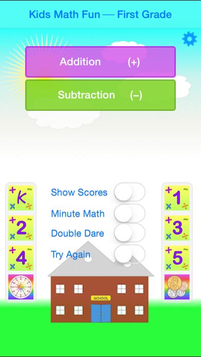 Kids Math Fun — First Grade screenshot one