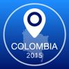 Guía de Colombia Offline Mapa + Ciudad Navegador, Atracciones y Transportes