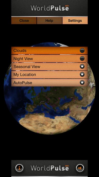 WorldPulse Earth Weather Clouds & Temperatureのおすすめ画像2