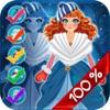 我的漂亮的小白雪公主复制及抽奖游戏 - 免费应用程序 - 皇家美容BFF的装扮俱乐部版的虚拟世界