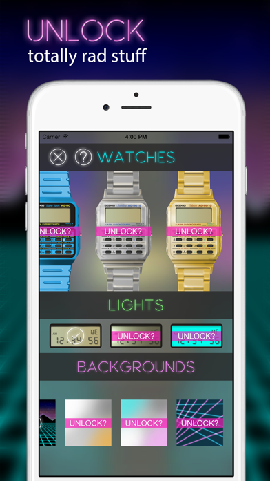 Geek Watch - Retro Calculator Watchのおすすめ画像3