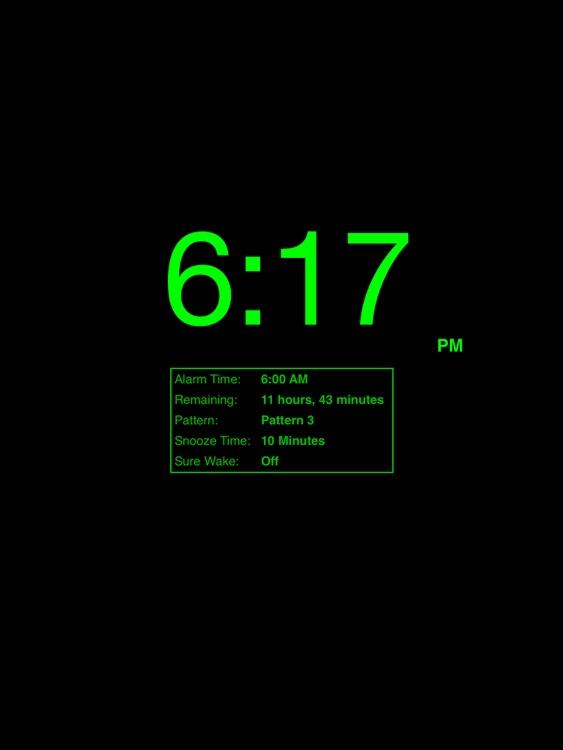 Progressive Alarm Clock for iPad