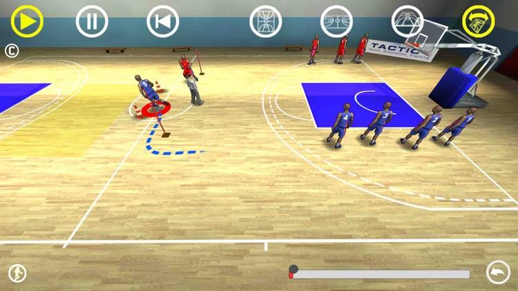 Basketball 3D playbook screenshot-4