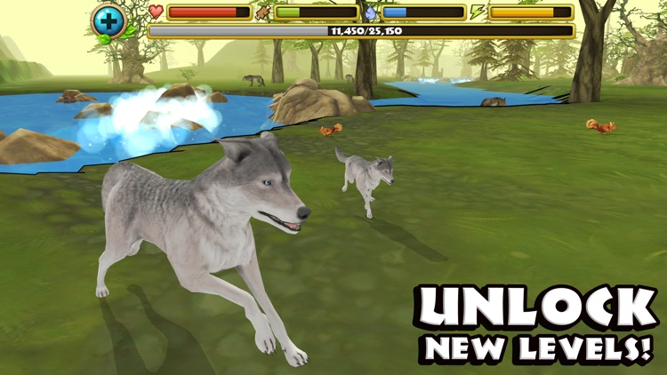 Wildlife Simulator: Wolf screenshot-4