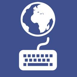 Keyboard with global translation