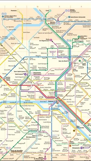 Paris travel guide and offline map - metro paris subway, tube paris ...