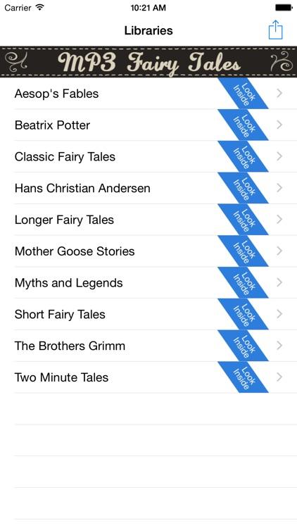 Audio Fairy Tales
