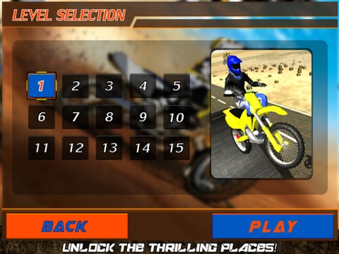 Crazy Motorcycle Stunt Ride simulator 3D – Perform Extreme Driver Stunts with Motor Bike on Dirt-ipad-4