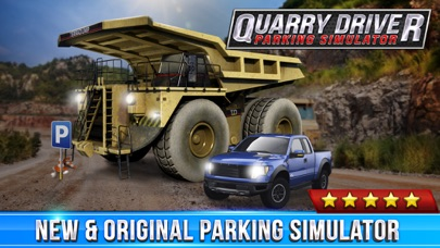 Quarry Driver Parking Game Real Mining Monster Truck Car Driving