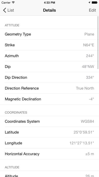 GeoCompass 2 - Geologist's Compass screenshot-3