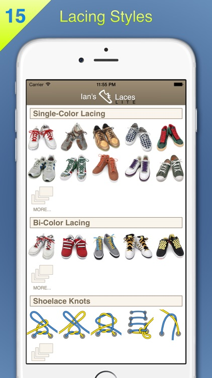 Ian's Laces - How to tie and lace shoes (Lite) screenshot-0