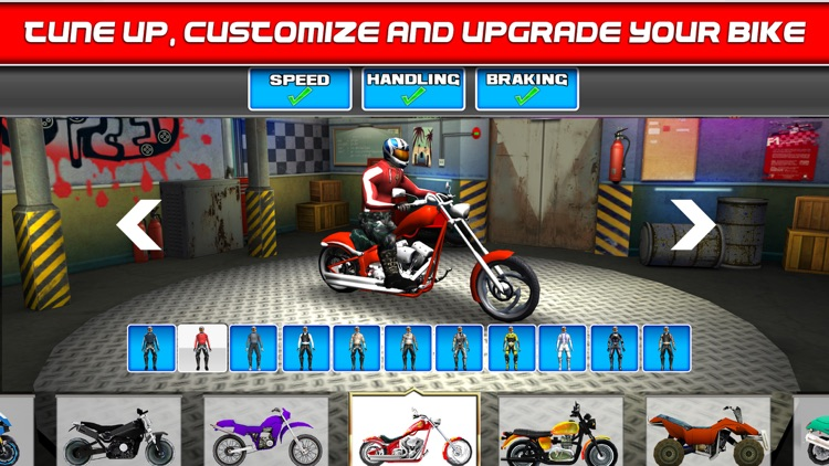 Bike Traffic Race Mania a Real Endless Road Racing Run Game screenshot-1