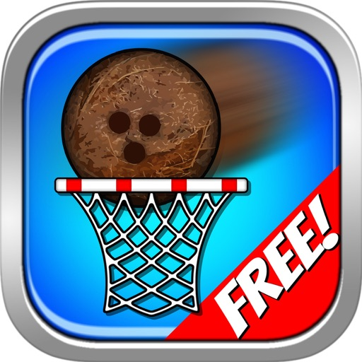 Super Coconut Basketball Free icon