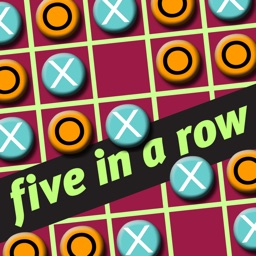 Beyond Tic Tac Toe - Get Five-in-a-row with Friends, solve Gomoku puzzles, or beat the computer Free