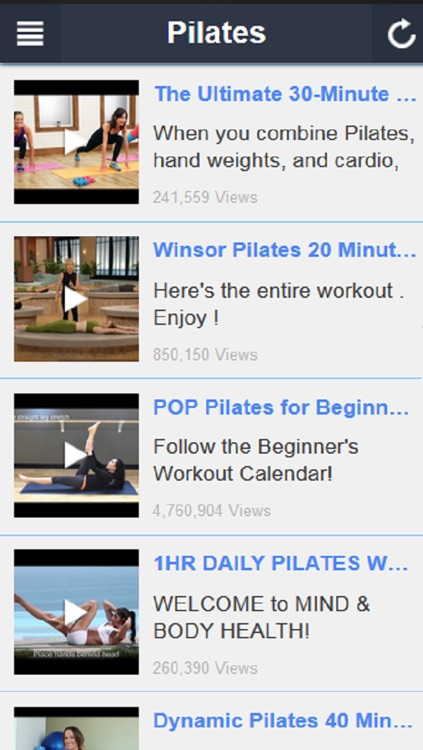 Pilates Workout - Beginner Pilates and Core Stabililty Exercises screenshot-3