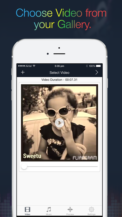 Music To Videos - Add Background Music to Video Clips and