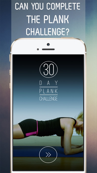 30 Day Plank Challenge for a Strong Core Screenshot 1