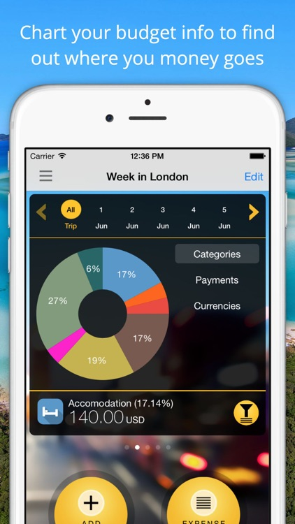 Travel Wallet - Expense tracker, control and save money in your trips