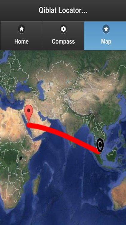 Qibla AR Locator by Hafiz Musa