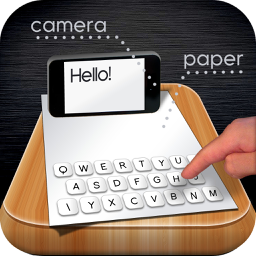 Ícone do app Paper Keyboard - Fast typing and playing with an alternative printed projector keypad