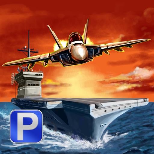 Aircraft Carrier Parking PRO - Full F18 Navy Jet Emergency Landing Version