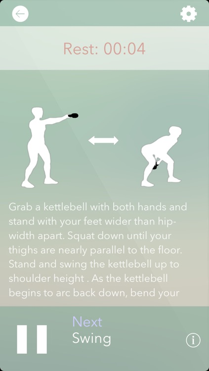 Kettlebell Complete Workout Girls -  exercise program and personal trainer for daily fitness workout, perfect weight loss and efficient fat burner tool screenshot-1