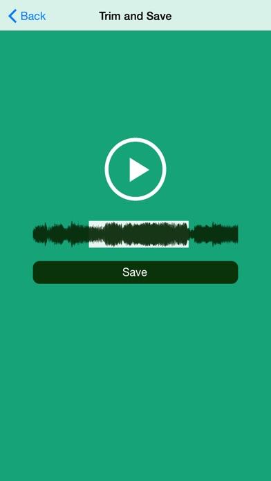 Vine to Sound - Convert Vine videos to sound, crop, send or use in iMovie Screenshot 2