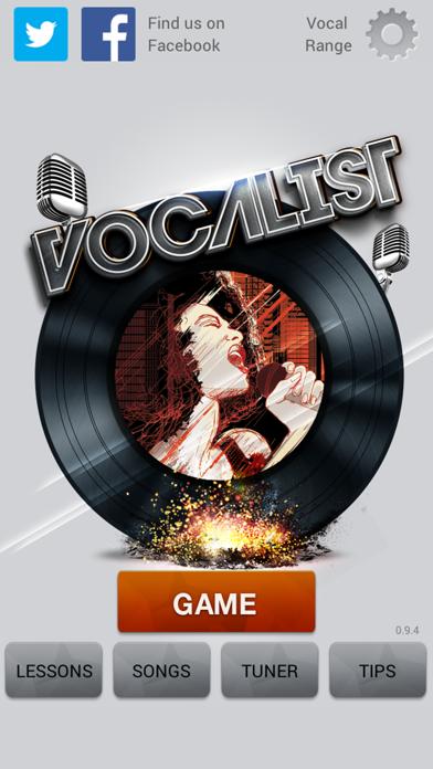 Vocalist Lite screenshot one
