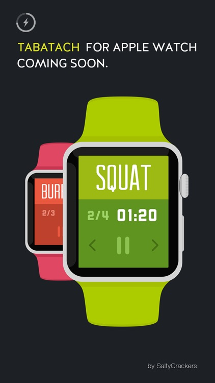 TABATACH - Interval Workout Timer for High Intensity Interval Training (HIIT) : TABATA & any Circuit Training screenshot-4