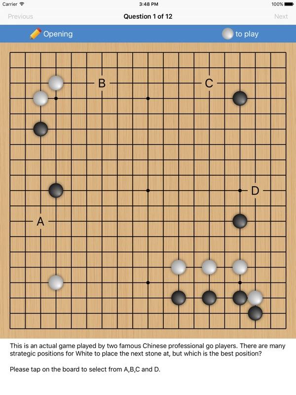 Go Weiqi Baduk Quiz - Problems & Solutions - Online Game