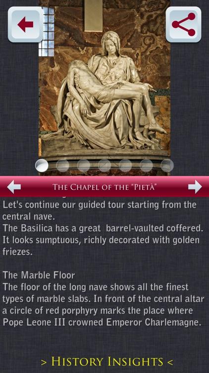 St Peter's Basilica Tour Guide screenshot-4