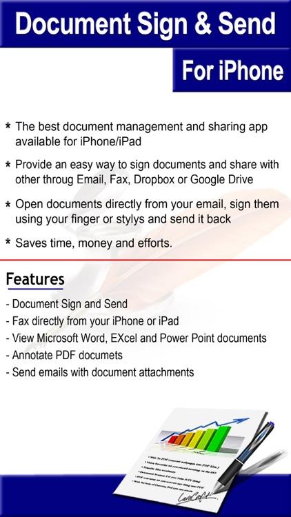 Document Sign & Send screenshot-3