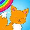 Colorful math Free «动物» - 趣味数学着色游戏,为孩子们的训练乘法表,精神加法,减法和除法的技能!