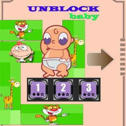 Unblock Baby Slide the block for kids & children