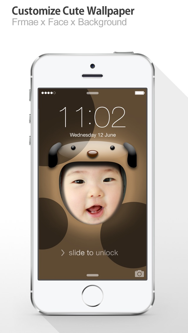 iFaceMaker Lite ( Cute animal themes ) : for Lock screen, Call screen, Contacts profile photo, instagram Screenshot