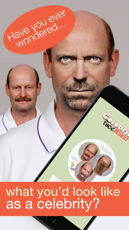 Celebrity Face Maker - Make funny celeb faces out of your pic photo booth
