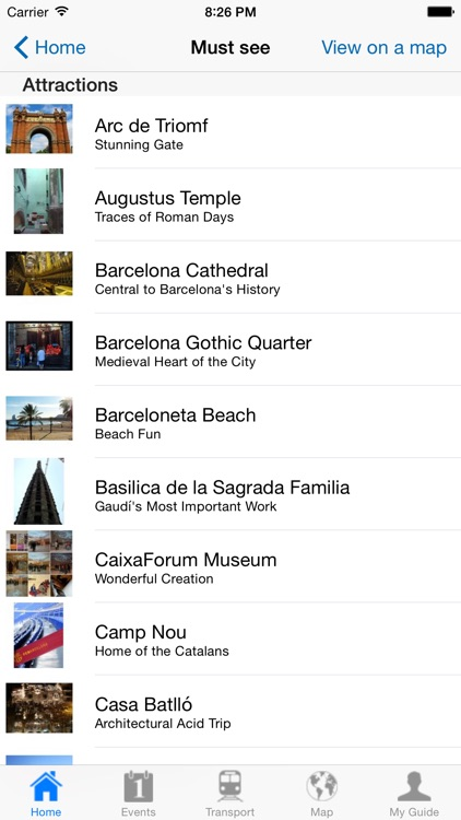 Barcelona Travel Guide Offline screenshot-3