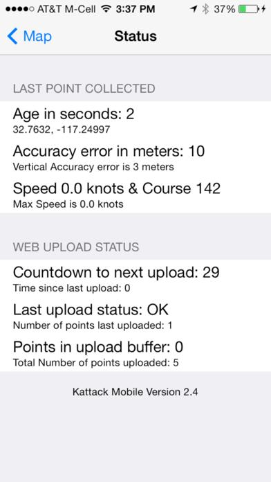 Kattack Mobile screenshot four