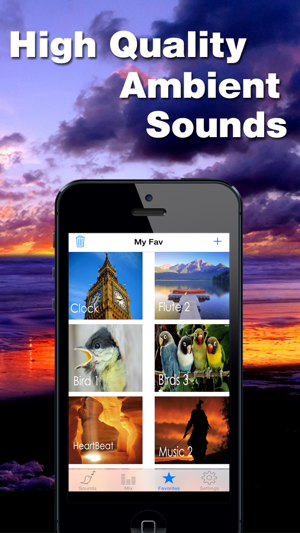 White Noise - Relaxing Sounds, Sleep Melodies & Nature Sounds Screenshot