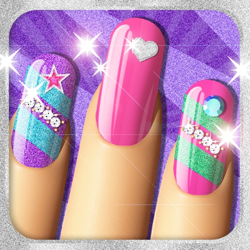 Nail Girl Games: Glitter Nails™ Manicure Makeover Game For Girls By
