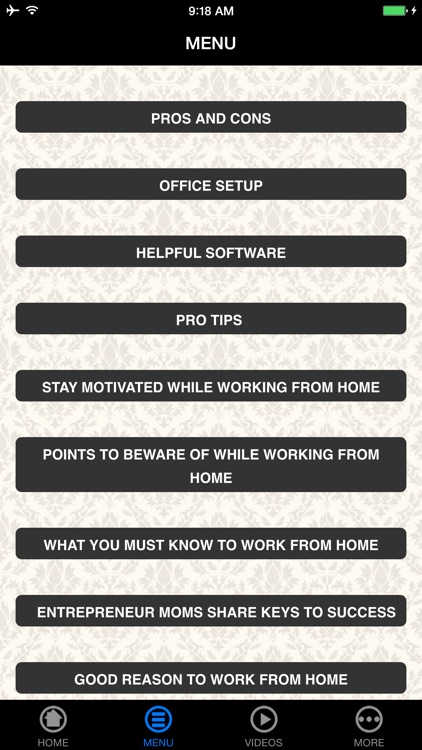 Guide To Work From Home screenshot-4