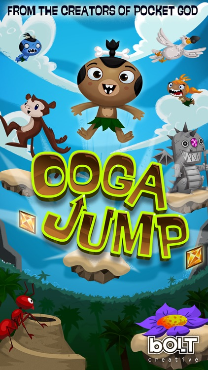 Pocket God: Ooga Jump