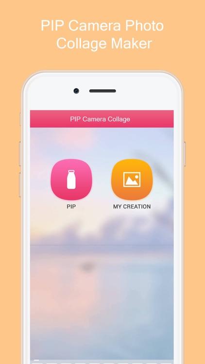 PIP Camera Photo Collage Maker screenshot-4