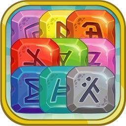 Fantastic Rune Stone Match 3 Mania Free Game