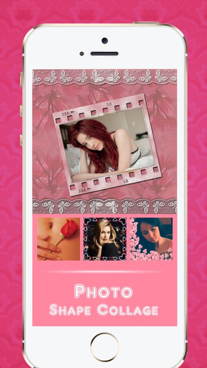 Photo Shape Collage - Overlay & Frame Pics for Posts on Tagged