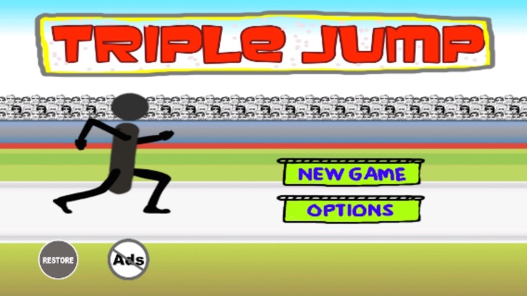 Triple Jump - Stickman Goes Athletic