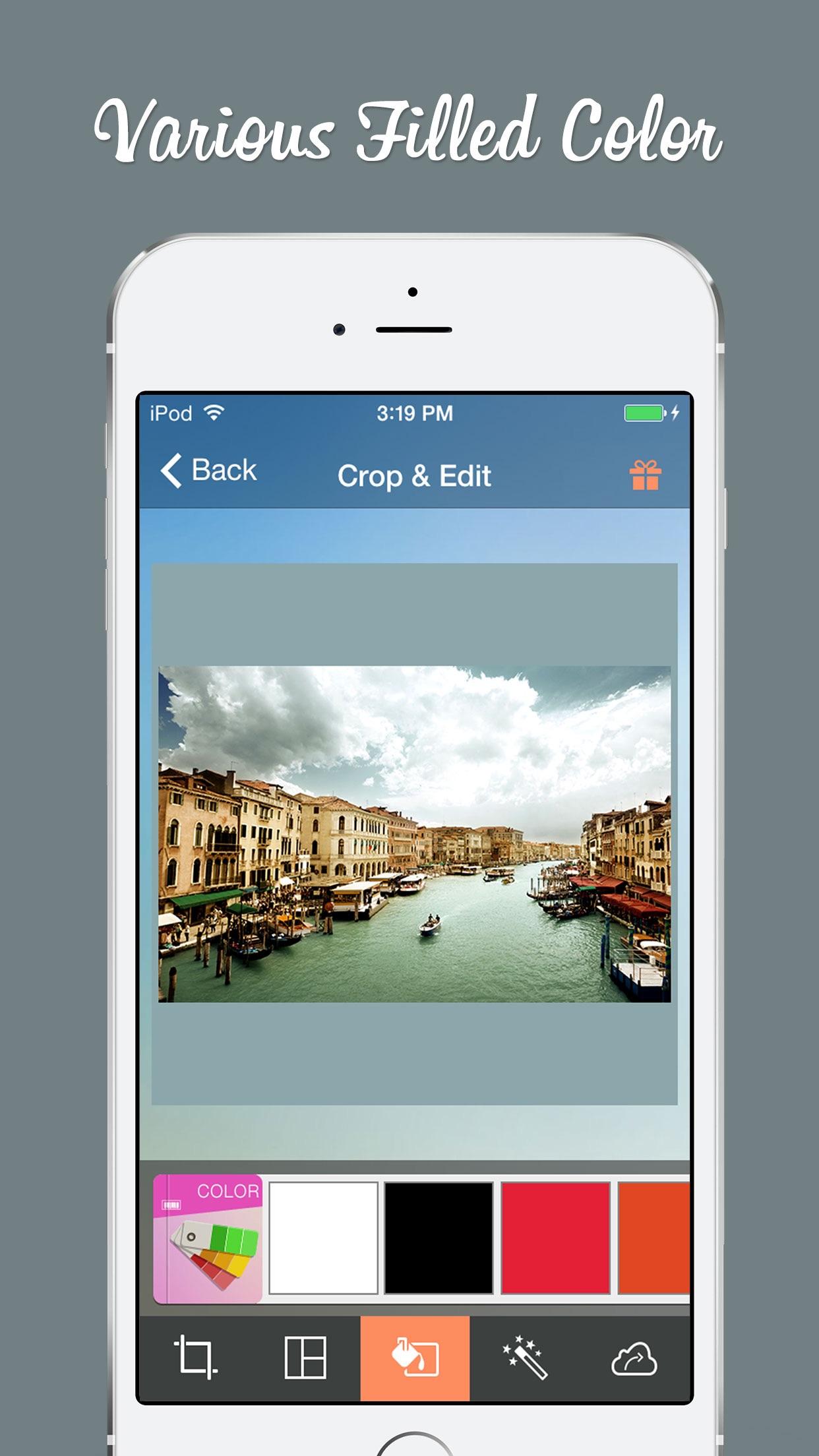 Cropic - Crop Photo & Video Insta-size Layout Screenshot
