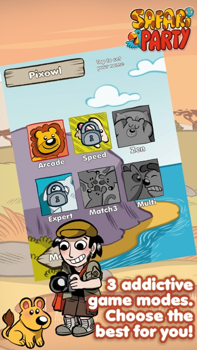 Safari Party - Match3 Puzzle Game with Multiplayerのおすすめ画像4