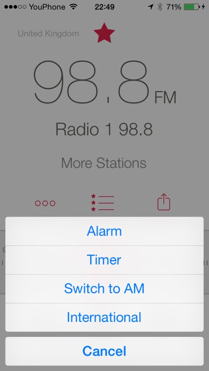 RadioApp - A simple radio for iPhone and iPod touch